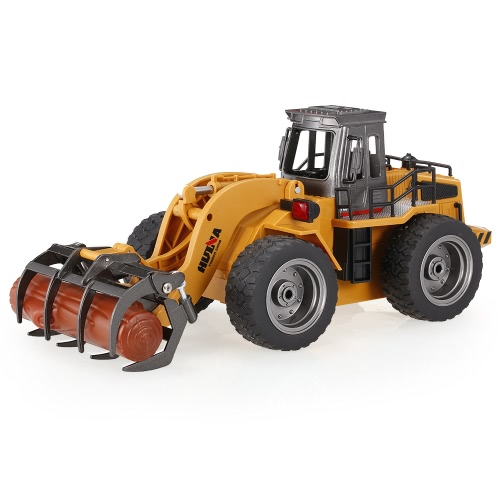 HUI NA TOYS 1590 1/18 2.4Ghz 6CH Timber Grab Engineering Truck RC Car Kids Toys Gift