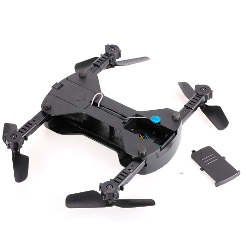 HR SH6HW 2.0MP Camera Selfie Drone Foldable RC Quadcopter Altitude Hold G-sensor Flight Path