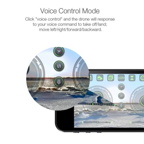 0.3MP Camera Selfie Drone Wifi FPV Foldable RC Quadcopter
