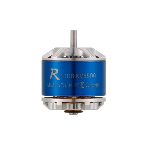 SUNNYSKY R1106 6500KV 1-2S Brushless Motor for 60 70 80 90 Micro FPV Racing Drone Quadcopter