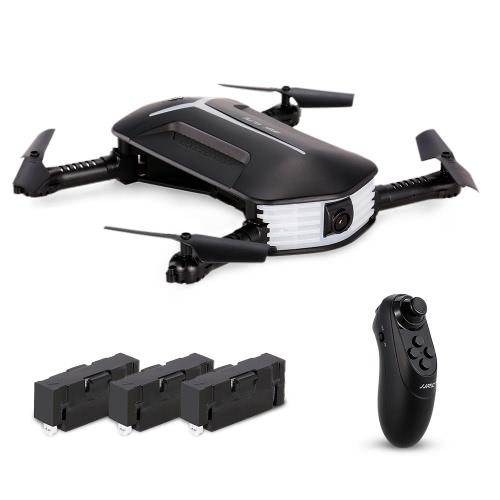 Original JJRC (JJR / C) H37 Mini BABY ELFIE WIFI FPV 720P Câmera Quadcopter Dobrável G-sensor Mini RC Selfie Drone Dois bateria extra