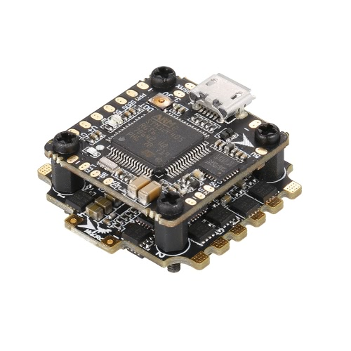 HGLRC XJB F428 2-4S 20 * 20MM OMF4-OSD Micro F4 Flight Controller com 4in1 28A Blheli_S ESC FPV Racing Drone