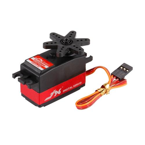 JX PDI-4409MG 4.8V-6V高電圧0.11秒/ 60°9.2kgデジタルメタルギアミニサーボアルミケース1/8 RCカー用