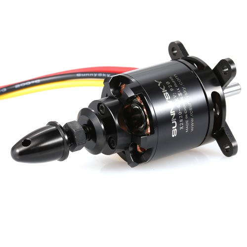 SUNNYSKY X2820 920KV 3-5S Motor sem escova para RC Airplane Aerobatic Fixed-wing Drone