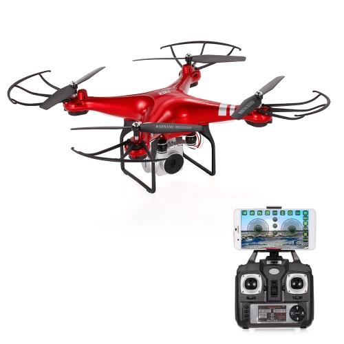 Oryginalny HR SH5HD 2.4G 4CH 1080P Kamera Wifi FPV Wysokość Drone Zablokuj Tryb Bez Głowy Jeden Zwrot kluczyka Quadcopter