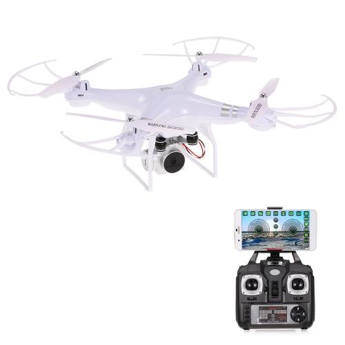 Оригинальный HR SH5HD 2.4G 4CH 1080P Камера Wifi FPV Drone Высота Удержание Безголового режима Один ключ Возврат RC Quadcopter