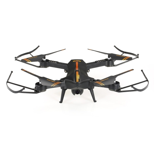 Jetblack 720P 120 ° Wide Angle Camera Wifi FPV plegable Drone