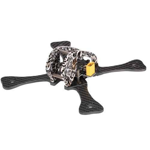 GEPRC GEP-LX4 V3 185mm X-Type 4in Carbon Fiber FPV Racing Drone Quadcopter Frame Kit with XT60 Power Distributor