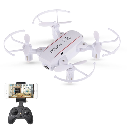 Linxtech IN1601 2.4G 0.3MP Wifi FPV Pliable Altitude Tenir RC Drone Quadcopter