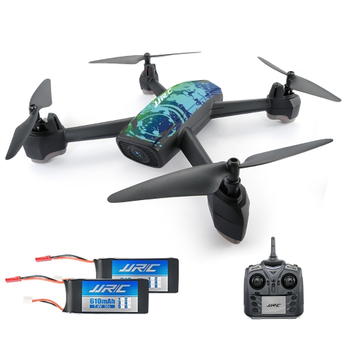 Original JJR / C H55 Rastreador 2.4G 720P Cámara Wifi FPV GPS Posición Altitud Mantenga RC Quadcopter w / Two Batteries