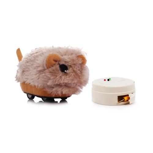 赤ちゃんと男の子の両方のための赤外線リモートコントロールかわいい電子ハムスターぬいぐるみぬいぐるみRCおもちゃの贈り物