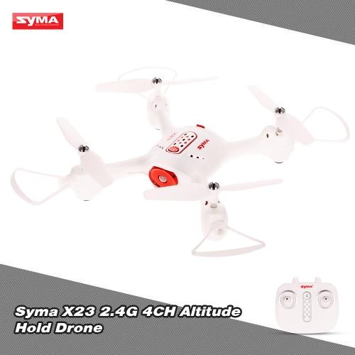 Original Syma X23 2.4G 4CH Altitude Hold Drone Headless Mode 3D Flip Quadcopter
