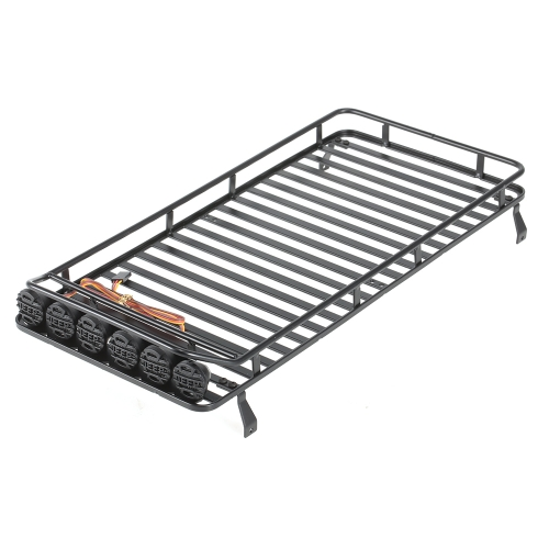 Austar AX-520B Luggage Carrier Roof Rack Light LED Lamp for RC 1/10 Rock Crawler