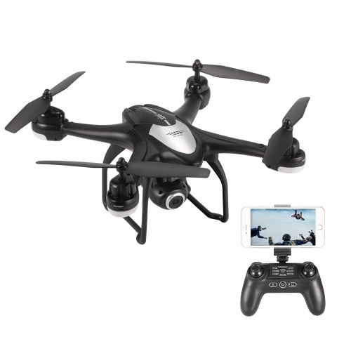 SJ R/C S30W 1080P Wide Angle Camera GPS Positioning Wifi FPV Altitude Hold RC Training Quadcopter