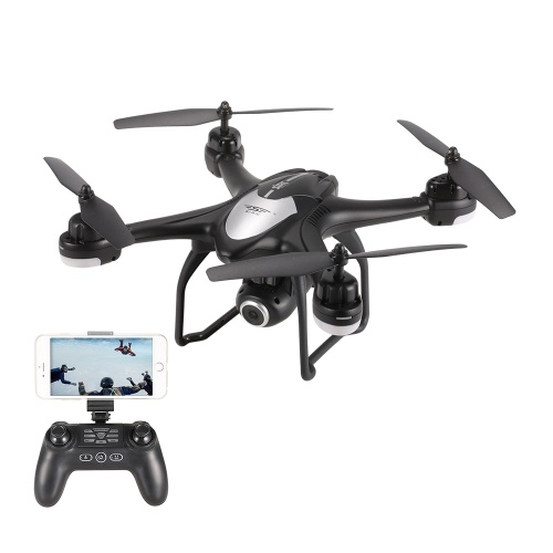 SJ R / C S30W 1080P grand angle caméra GPS Positionnement Wifi FPV Altitude Hold RC Training Quadcopter