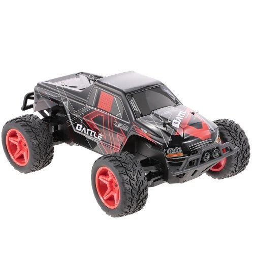Original WLtoys L219 2.4GHz 2WD 1/10 30KM/H Brushed Electric RTR Monster Truck RC Car Image