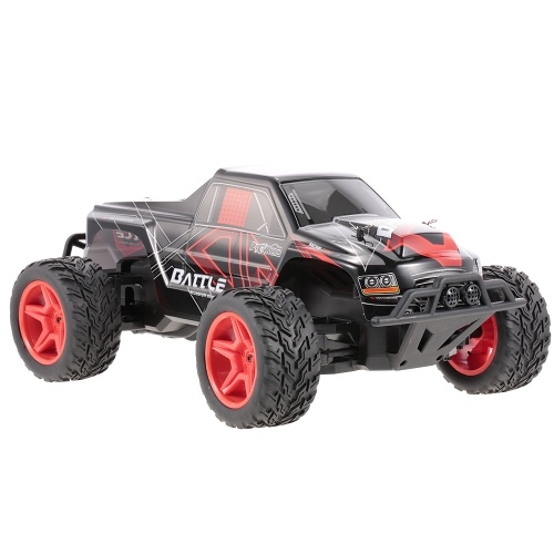 Original WLtoys L219 2,4 GHz 2WD 1/10 30 KM / H Gebürstetes Elektro RTR Monster Truck RC Auto