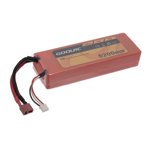 GoolRC 2S 7.4V 5200mAh 45C Li-Po Battery with T Plug