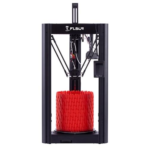 FLSUN SR Delta 3D Printer with 200g PLA Sample Filament