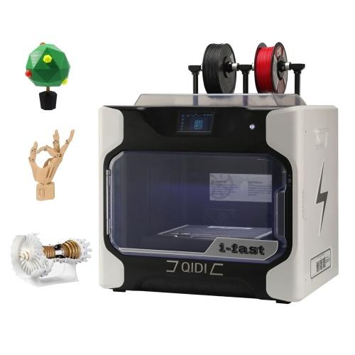 QIDI TECH iFAST 3D Printer Print Size 330x250x320mm