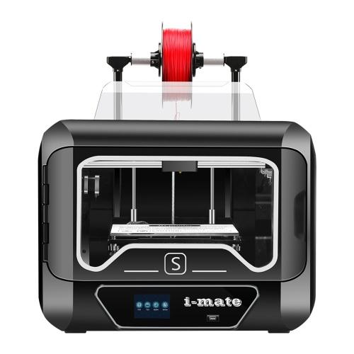 QIDI TECH i-mates Impressora 3D totalmente montada com tela sensível ao toque de 3,5 polegadas