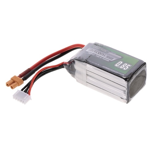 14.8V 850mAh 30C 4S Rechargeable Li-Po Battery with XT30 Plug for RC Drone Quadcopter Airplane Car Truck