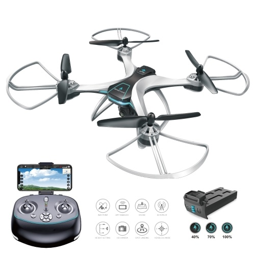 Fineco FX-8G 1080P Camera Wifi FPV GPS Positioning Altitude Hold Drone RC Quadcopter