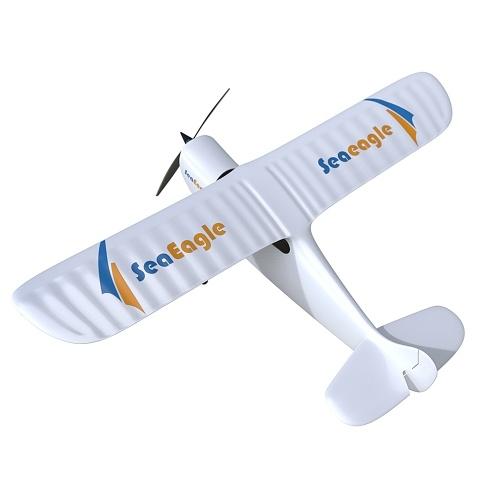 Águia marinha 2.4G 2CH 515mm Envergadura Planador de Controle Remoto Asa Fixa EPS RC Avião Avião RTF