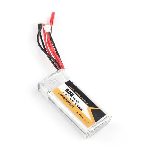 Batteria Li-Po da 7,4 V 900 mAh 30C 2 S