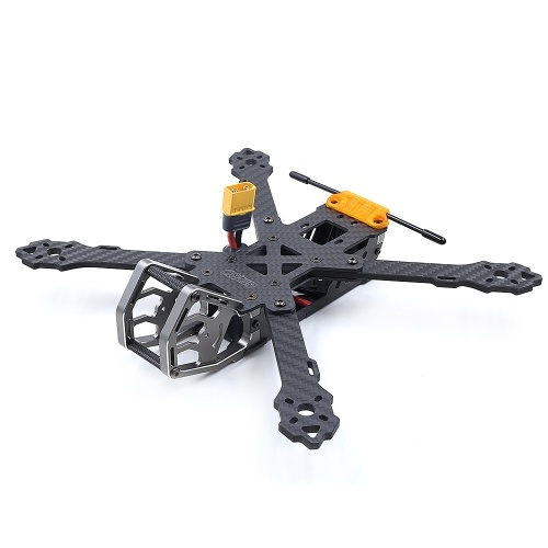 GEPRC GEP-KHX5 Элегантный 230-мм FPV Racing Drone 3K Pure Carbon Fiber X Frame Set