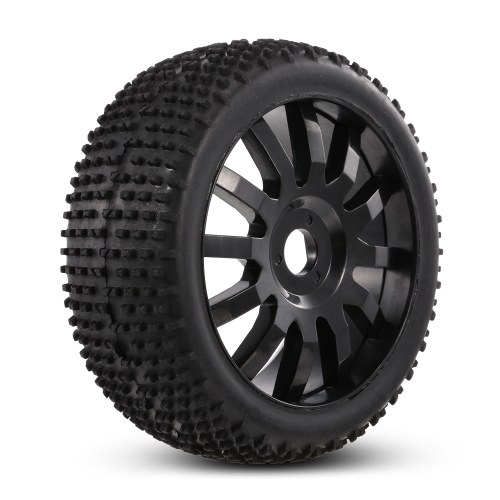 4pcs 1/8 110mm Tires with Wheels Rims