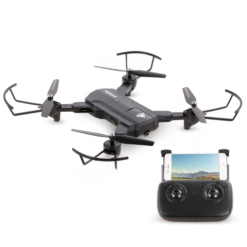 F196 720P Wifi FPV Optical Flow Positioning Gesture Photo Video Follow Me Altitude Hold RC Selfie Drone Quadcopter