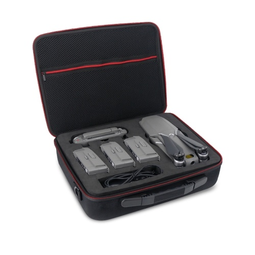 Outdoor Portable Shockproof Waterproof Handbag Backpack Storage Box for DJI Mavic 2 Pro Zoom Drone Three Batteries Version