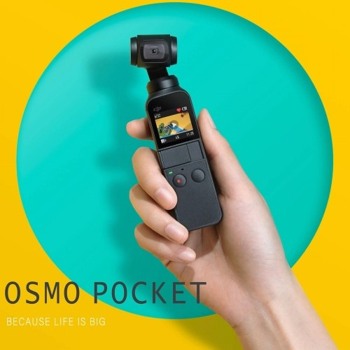 DJI Osmo Pocket 3-Axis Gimbal Camera