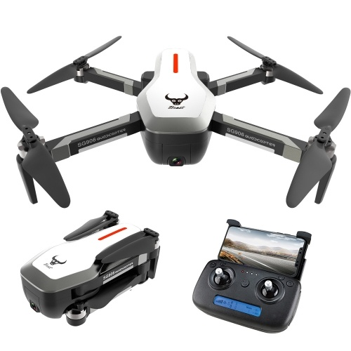 ZLRC Beast SG906 5G Wifi GPS FPV Drone with 4K Camera(3 Batteries and Handbag), TOMTOP  - buy with discount