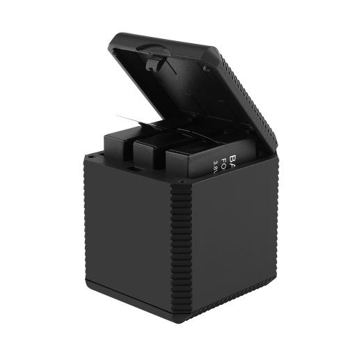 Коробка зарядного устройства 3 в 1 для камеры Insta360 One X Интеллектуальная интеллектуальная зарядная станция с интерфейсом TYPE-C фото