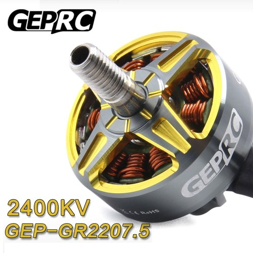 GEPRC 2207.5 2400KV 3-4S Motore Brushless per RC Drone FPV Racing Aircraft