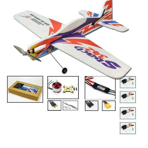 E1804 EPP RC Airplane 1000mm Electric Powered SBACH342 RC Aircraft Unassembled Flying Model(PNP Version) Image
