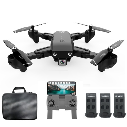 Image of CSJ WIFI FPV GPS S166GPS Drohne mit 1080P Kamera 18 Minuten Flugzeit mit Handtasche
