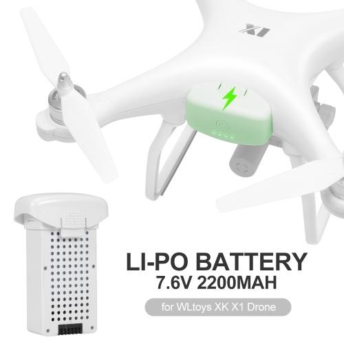 WLtoys XK X1 7.6V 2200mAh Li-Po Battery for WLtoys XK X1 Drone
