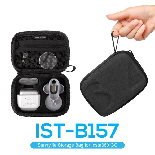 Sunnylife Storage Bag Travel Portable Bag Compatible with Insta360 GO