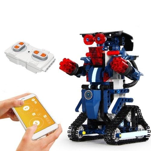 349PCS 2.4GHz Remote Control Robot RC Building Block Robot App Controlled Educational RC Robot