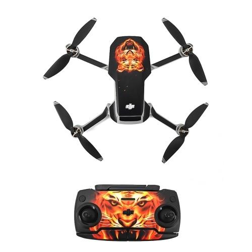 Compatible with DJI Mavic Mini Drone Stickers Waterproof Anti Scratch Drone Surface Guard PVC Sticker DIY Accessory