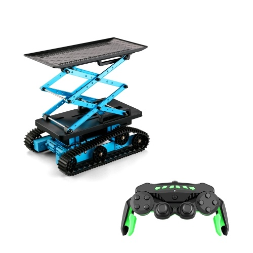 K2 2.4Ghz RC Robotic Car Aluminum Alloy Remote Control  Lift Table Robot with Wheels DIY Building Toy Image