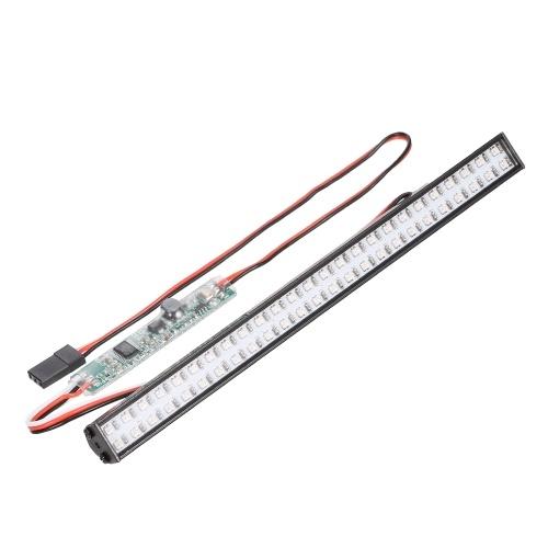 RC LED Lights Bar 147mm / 5.8in Lampe de toit en métal Phare 50LEDs Lumière