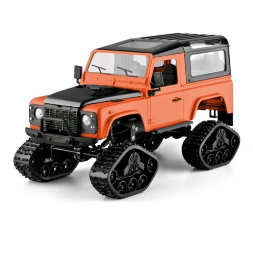 FY003-1B 2.4GHz 1/16 RC Tank Rock Crawler 4WD Off Road RC Cars RC Truck Toy for Adults Kids