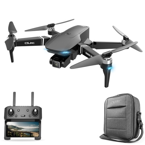 CSJ S189 PRO 5G Wifi FPV GPS 4K Camera Drone Brushless Motor Quadcopter Dual Camera Drone with Storage Bag