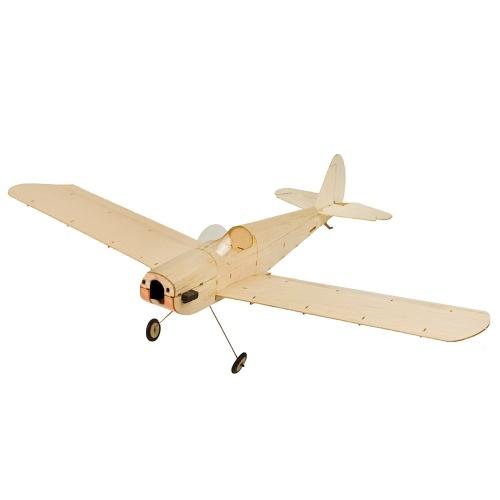 Dancing Wings Hobby K0904 Micro Space Walker Airplane 460mm Wingspan Balsa Wood DIY Remote Control Aircraft PNP Version with Motor ESC Servo Propeller Image