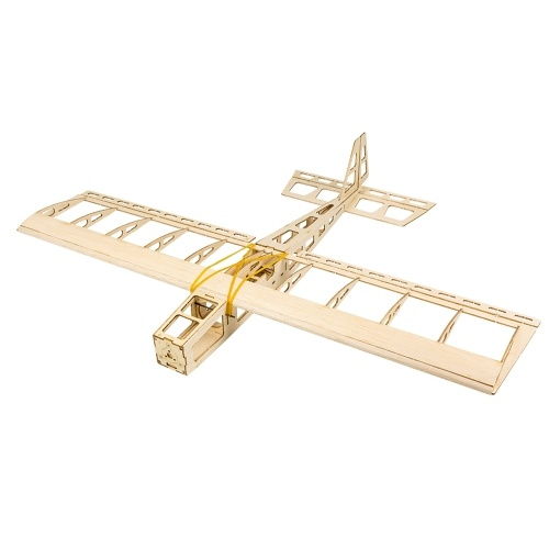 Dancing Wings Hobby R03 STICK-06 Airplane 580mm Wingspan Balsa Wood DIY Electric Aircraft RC Flying Toy PNP Version Unassembled with Motor ESC Servo Propeller Film Pack Image