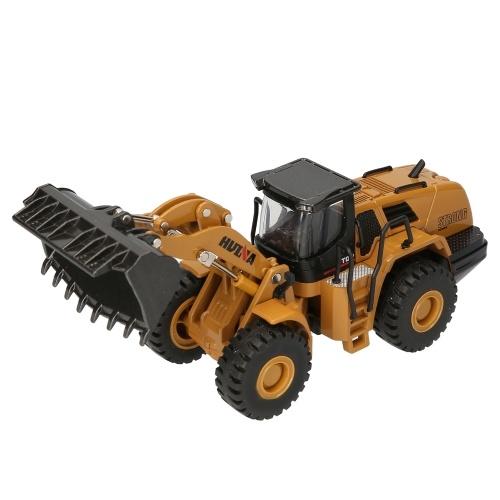 HUINA 1714 1/50  Metal Alloy Loader Truck Car Model Toy Engineering Car Vehicle Construction Car Image